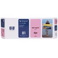 HP 81 - 680 ml Light Magenta mustepatruuna