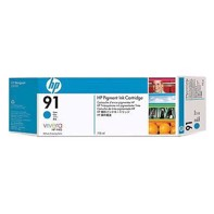 HP 91 - 775 ml Cyan mustepatruuna