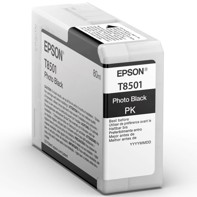 Epson Photo Black 80 ml mustepatruuna T8501 - Epson SureColor P800