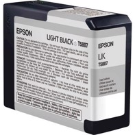 Epson Light Black 80 ml mustepatruuna T5807 - Epson Pro 3800 ja 3880