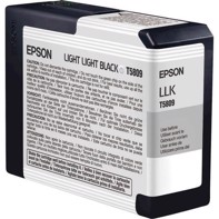 Epson Light Light Black 80 ml mustepatruuna T5809 - Epson Pro 3800 ja 3880