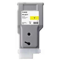Canon Yellow PFI-207Y - 300 ml mustepatruuna