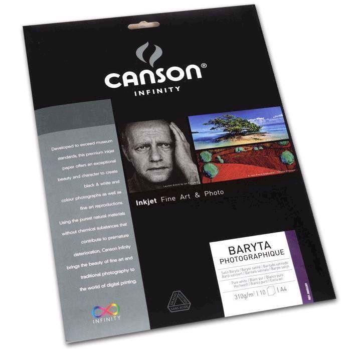 Canson Baryta Photographique 310 g/m² - A2, 25 arkkeja