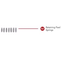 Rotary straight/convex - Retaining Pawl Springs
