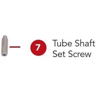 Rotary straight/convex - Tube Shaft Set Screw