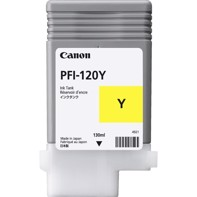 Canon Yellow PFI-120 Y – mustepatruuna 130 ml