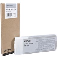 Epson Light Black 220 ml mustepatruuna T6067 - Epson Pro 4800/4880